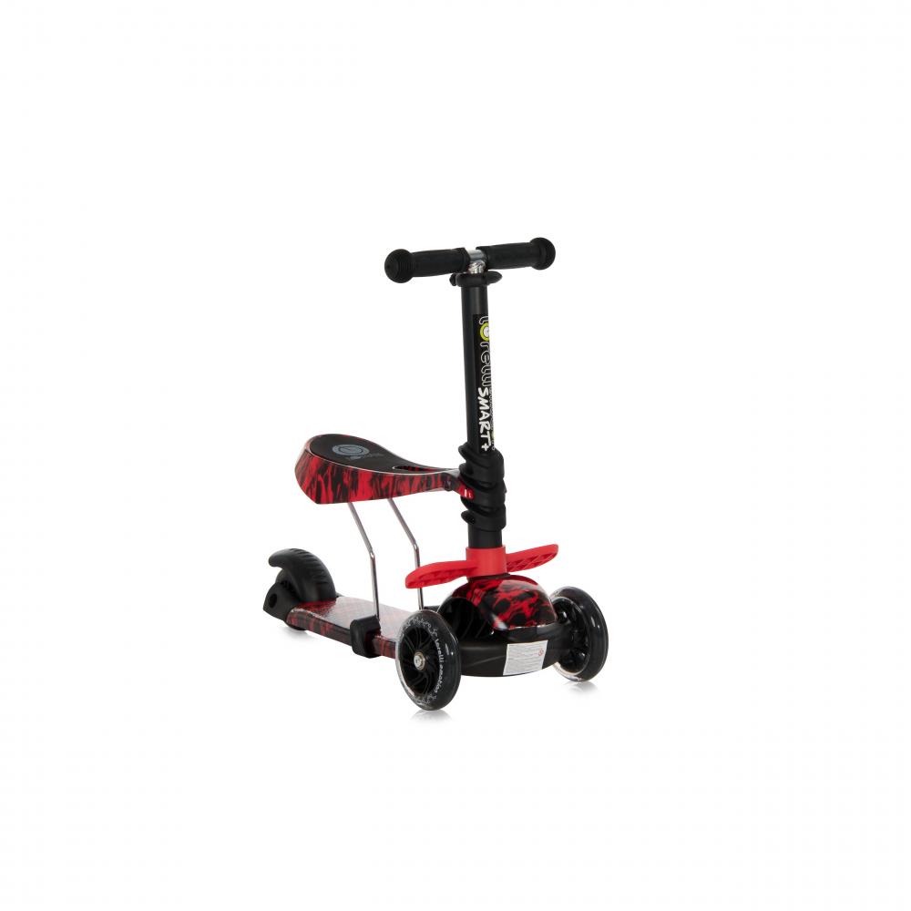 Trotineta pentru copii Smart Plus Red Fire - 1