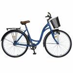 Bicicleta City 28 inch Velors Ukraina CSV28/94F albastru negru