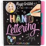 Carte Magic Scratch Hand Lettering Top Model Depesche