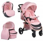 Carucior 3 in 1 Cangaroo Noble Pink