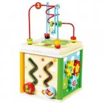 Jucarie de dexteritate Cub cu activitati 5 in 1