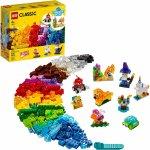 Lego Classic caramizi transparente creative
