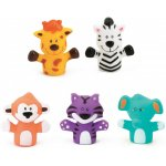 Set 5 marionete deget Safari Animals Ludi