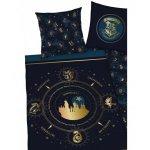 Lenjerie de pat Harry Potter pentru copii din bumbac reversibila 2 piese