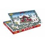 Margele de calcat Hama Midi Calendar Advent 5000 in cutie + 5 plansete de lucru mic