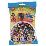 Margele de calcat Hama Midi mix de 52 culori 3000 buc in pungulita