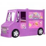 Masina Barbie by Mattel Rulota cu mancare si accesorii
