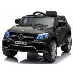Masinuta electrica cu scaun din piele si roti EVA Mercedes Benz GLE63S AMG Black