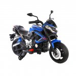 Motocicleta electrica cu doua motoare Nichiduta Moto Speed Blue