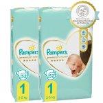 Scutece Pampers Premium Care 1 Jumbo Pack 104 buc