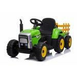Tractor electric cu remorca Moni Trailer Green