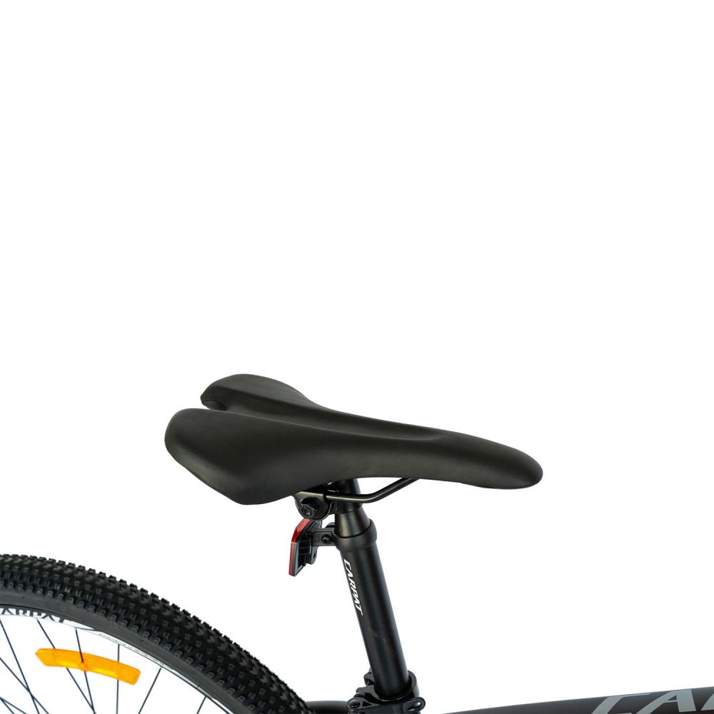 Bicicleta MTB-HT Shimano Tourney TY-300 21 viteze 29 inch Carpat CSC2957C negru cu portocaliu