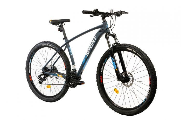 Bicicleta Mtb Afisport M3 gri 29 inch 495 mm