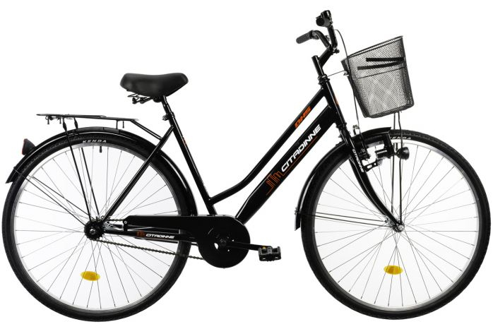 Bicicleta oras Dhs Citadinne 2812 negru 28 inch L
