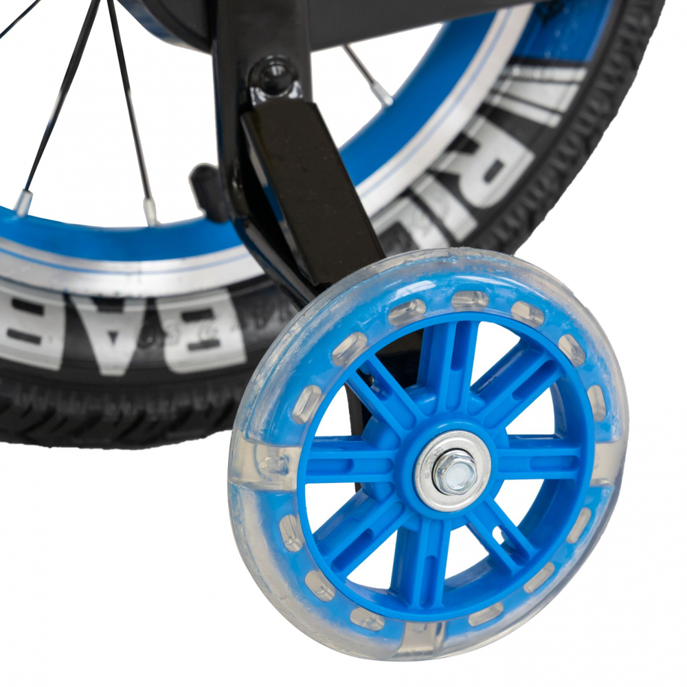 Bicicleta baieti 3-5 ani 14 inch Rich Baby CSR14WTB Albastru - 2