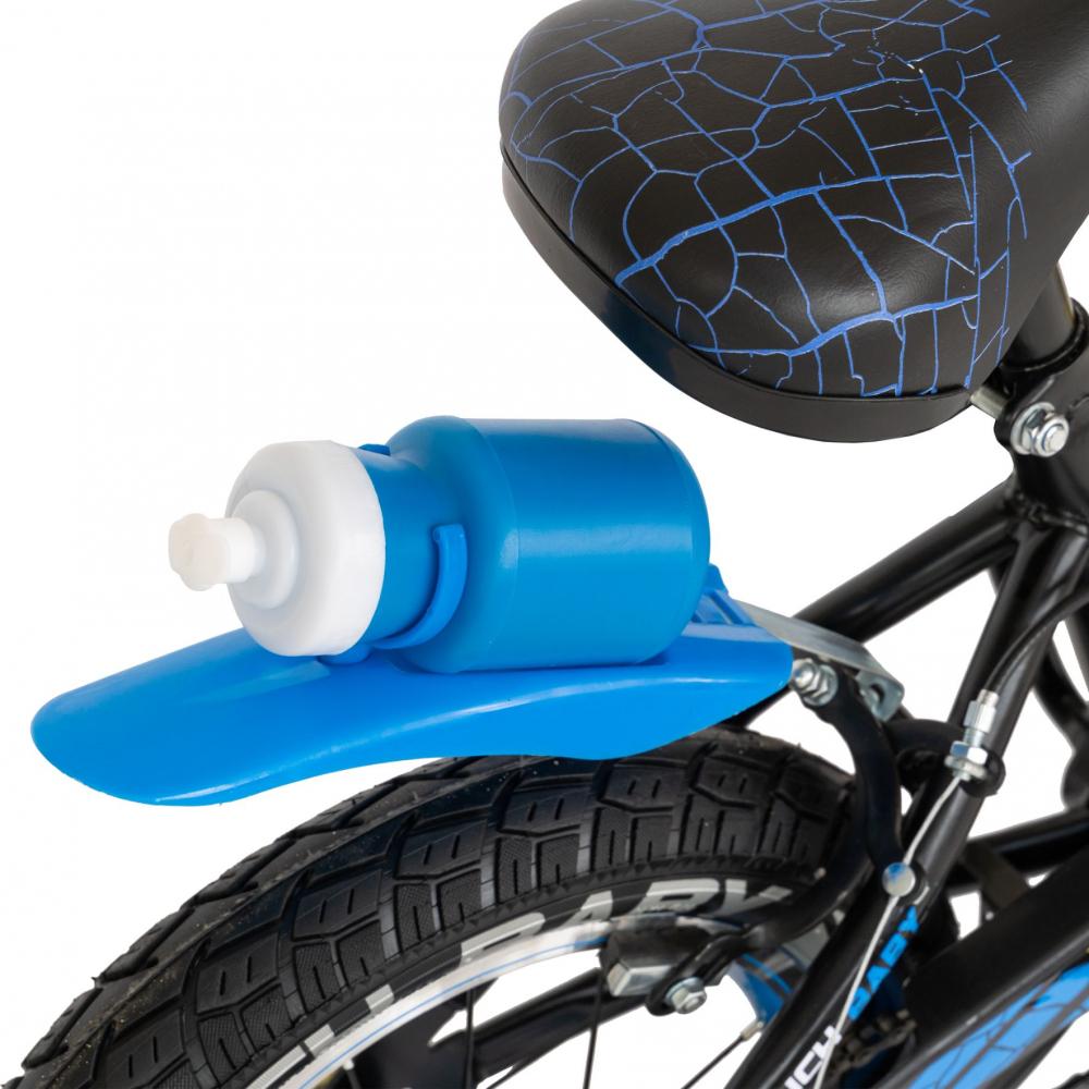 Bicicleta baieti 3-5 ani 14 inch Rich Baby CSR14WTB Albastru - 4