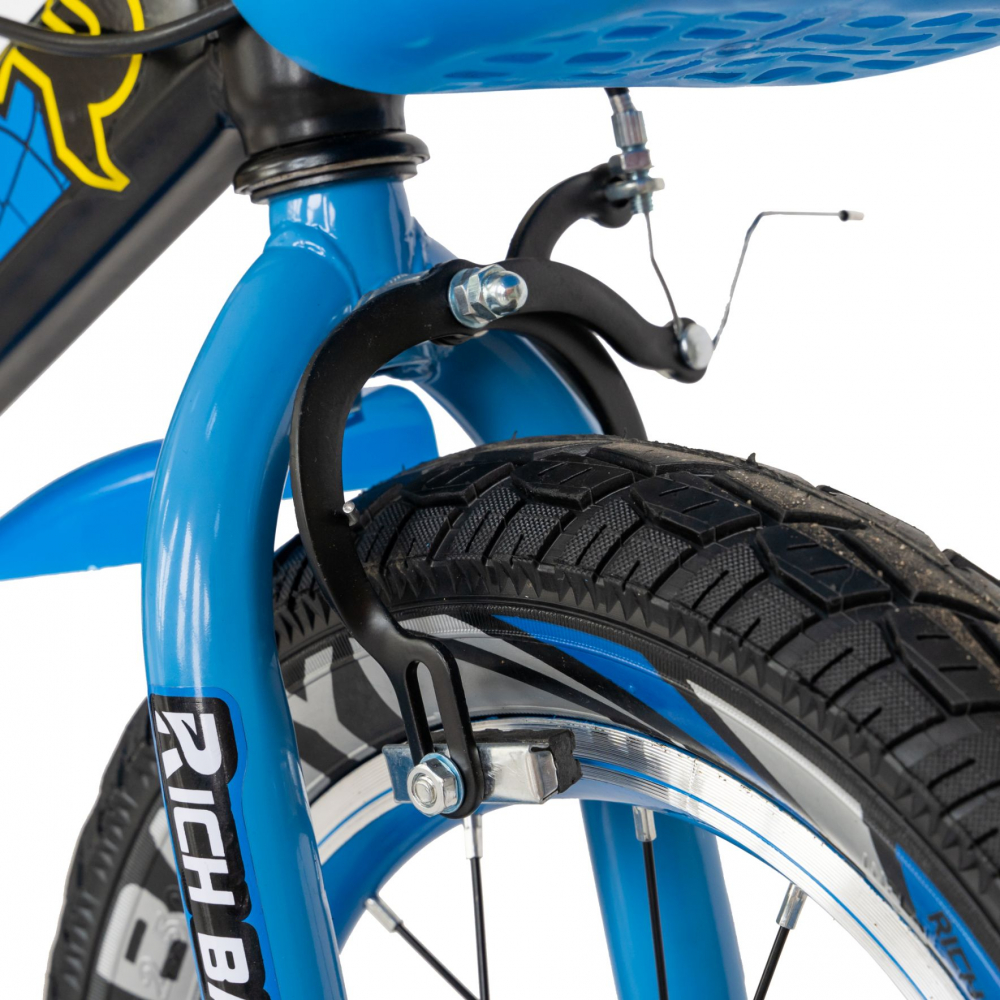Bicicleta baieti 3-5 ani 14 inch Rich Baby CSR14WTB Albastru - 5