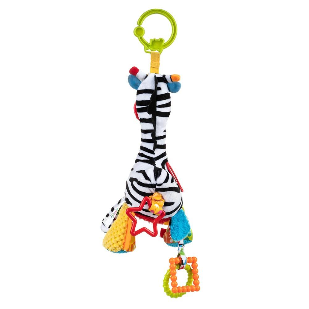 Jucarie pentru carucior Zebra Zoya 0 luni +