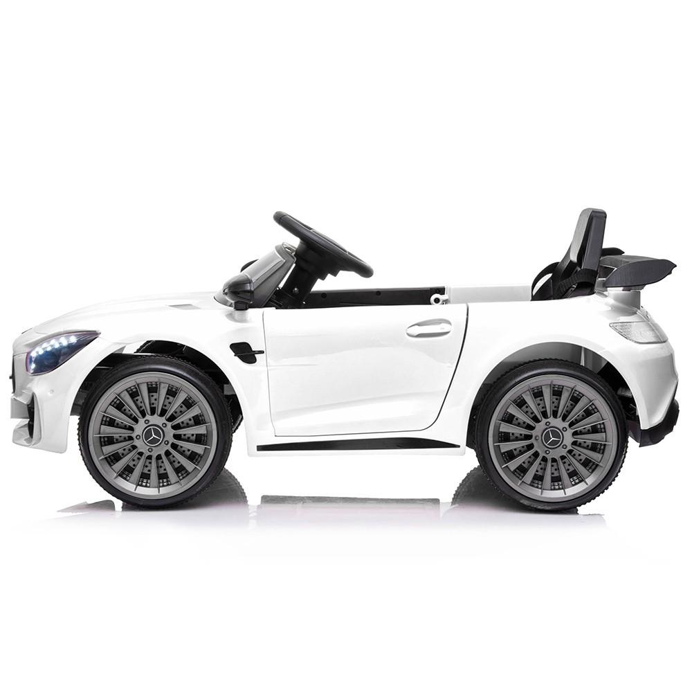 Masinuta electrica Chipolino Mercedes Benz GTR AMG white - 1