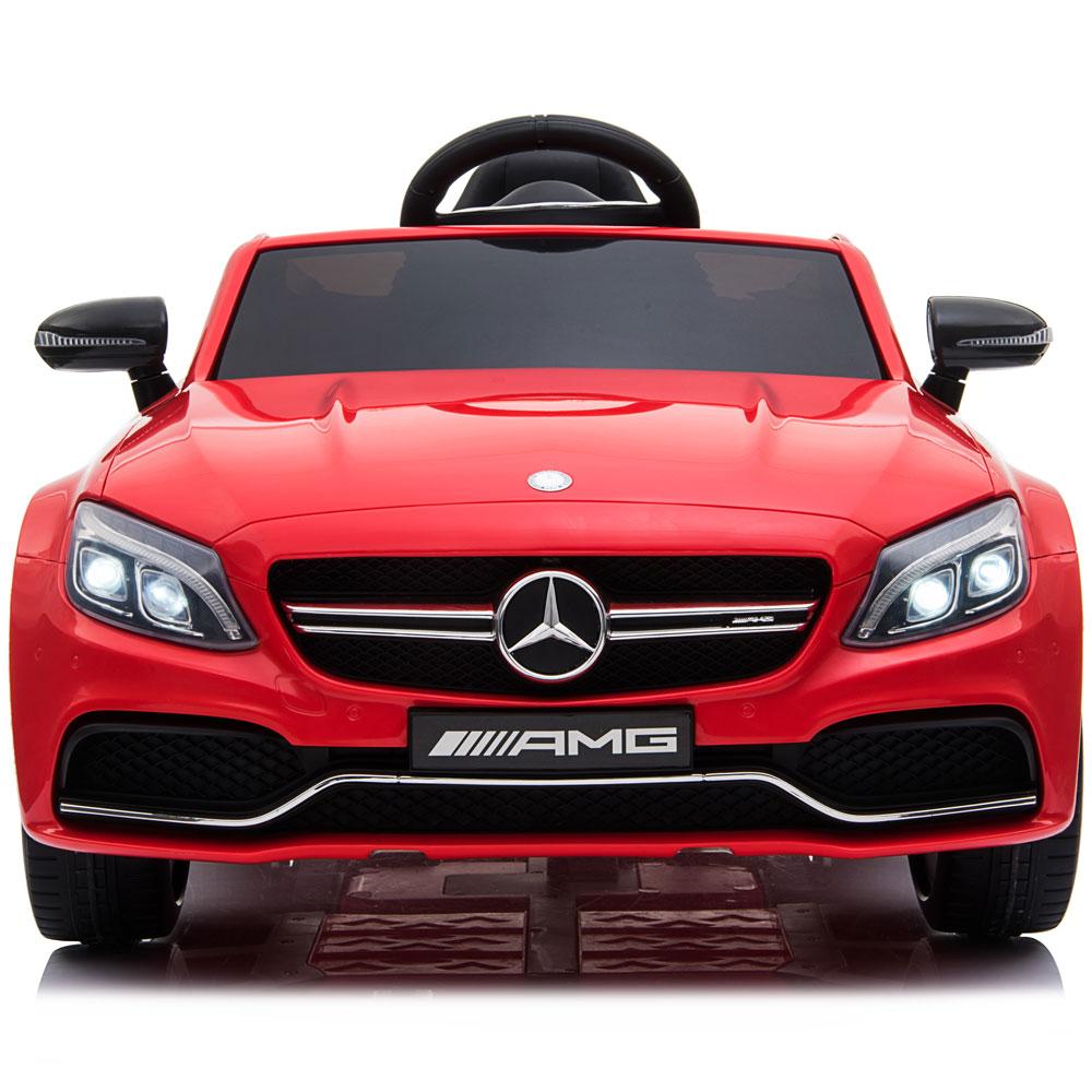 Masinuta electrica cu telecomanda Mercedes C63S Red - 2