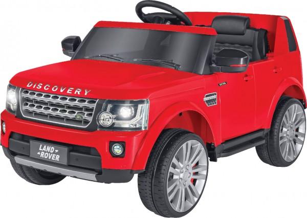 Masinuta electrica copii Discovery Land Rover Rosie Globo 12V cu telecomanda 2.4 Ghz - 1