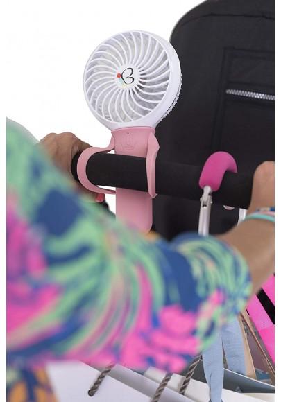 Mini ventilator cu incarcator USB Fan albnegru Buggygear