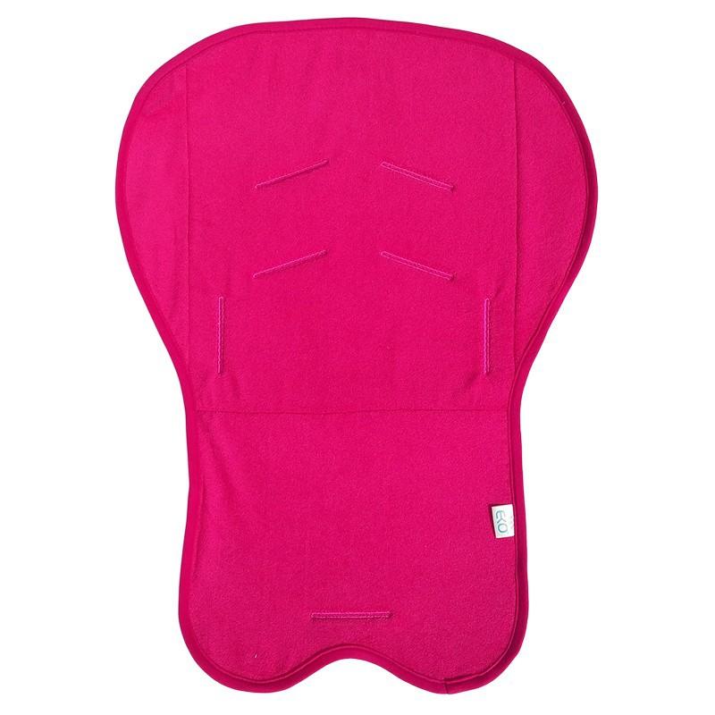 Protectie antitranspiratie universala pentru carucior Eko 100 bumbac dark pink - 3