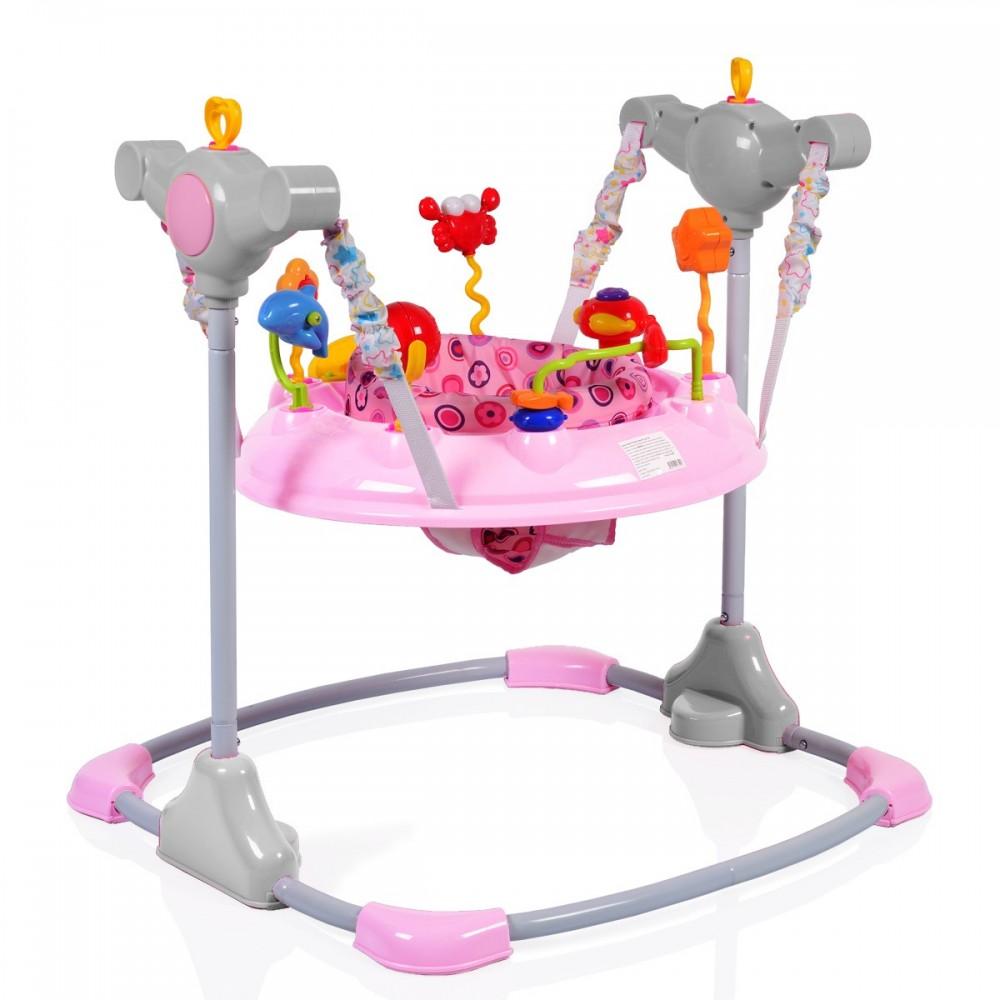 Saritor ajustabil pentru copii Jumper Vista Pink