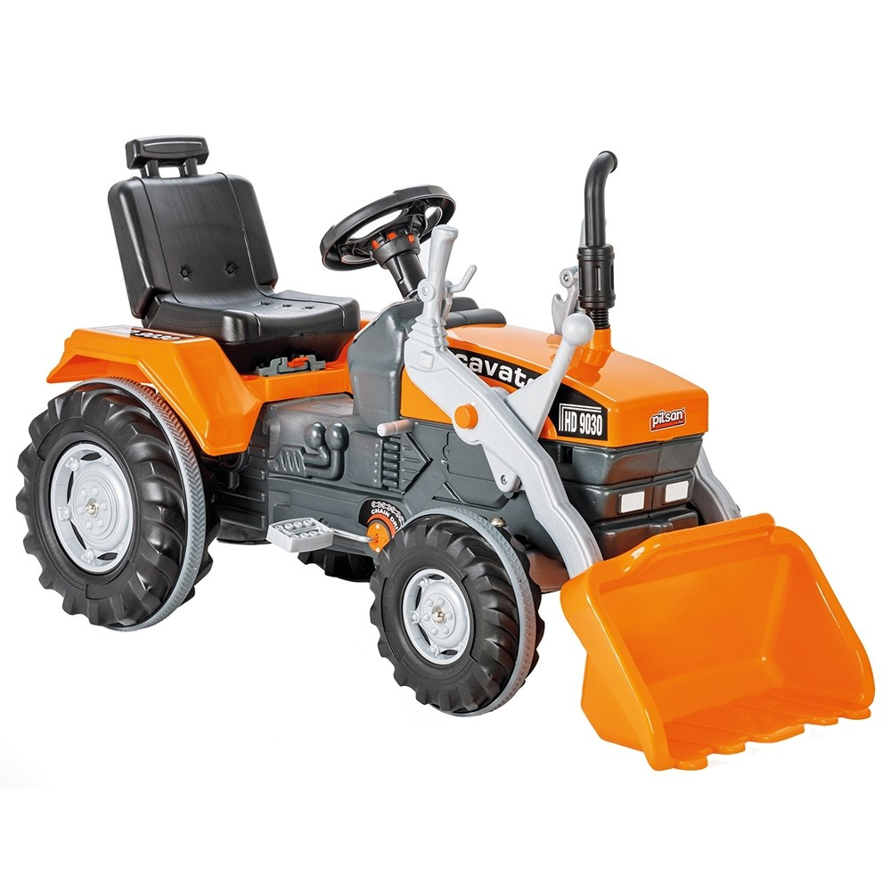 Tractor cu pedale Pilsan Super Excavator 07-297 orange - 3