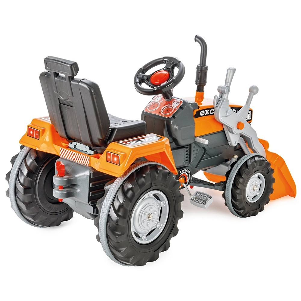 Tractor cu pedale Pilsan Super Excavator 07-297 orange - 2