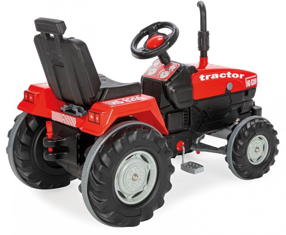 Tractor cu pedale pentru copii Operated Red