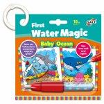 Baby Water Magic Carte de colorat in ocean