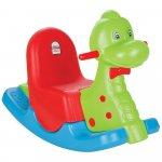 Balansoar pentru copii Pilsan Happy Dino green