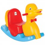 Balansoar pentru copii Pilsan Happy Duck yellow