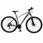Bicicleta MTB-HT Shimano Tourney TY-300 21 viteze 29 inch Carpat CSC29/57C gri cu albastru/negru
