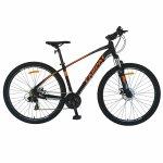 Bicicleta MTB-HT Shimano Tourney TY-300 21 viteze 29 inch Carpat CSC29/57C negru cu portocaliu