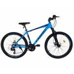 Bicicleta MTB-HT schimbator Shimano 21 viteze 26 inch cadru aluminiu Carpat CSC26/58C albastru cu negru