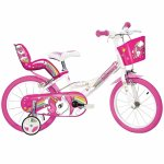 Bicicleta Unicorn 14 Dino Bikes 144R-UN