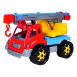 Camion copii cu macara 36 x 21 x 23 cm Bino