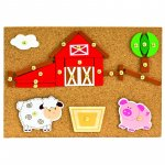 Set de creatie copii Ferma 170 piese Bino