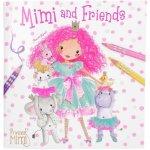 Carte de colorat Princess Mimi and Friends Depesche