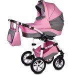 Carucior Vessanti Flamingo Easy Drive 3 in 1 Pink