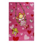 Covor copii & tineret Pinky Queeny roz 200x290