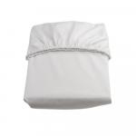Husa protectie salteluta 120x60 cm alb