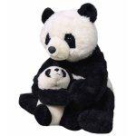 Jucarie plus mama si puiul urs panda
