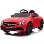 Masinuta electrica cu telecomanda Mercedes C63S Red