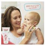 Pasta de dinti pentru copii cu aroma de zmeura 50 ml Friendly Organic
