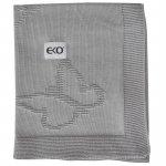 Paturica din bumbac Eko 80x100 cm Fluturasi grey