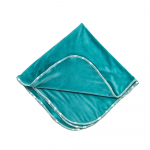 Paturica dubla bebelusi turquoise
