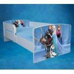 Patut Frozen 160x80 cu saltea si sertar